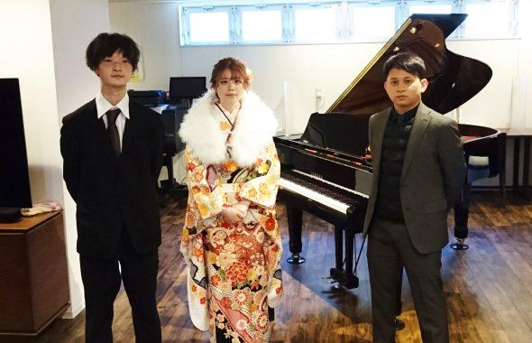 ピアノカフェ伊勢治「イベント 成人式」